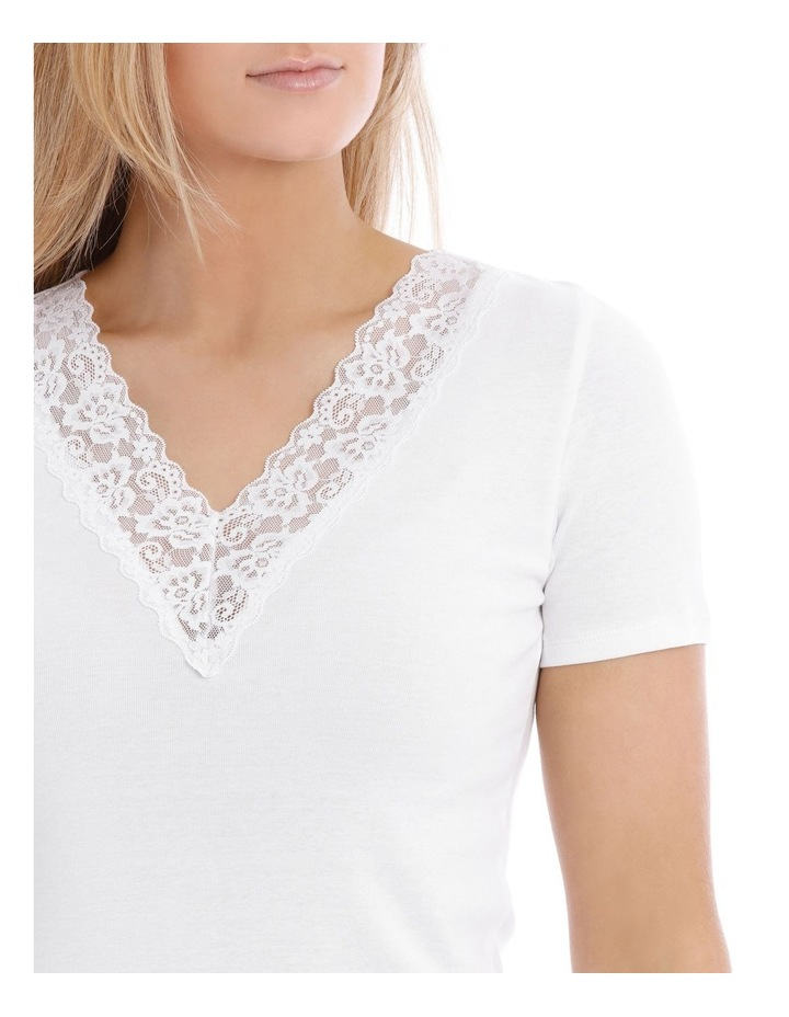 Thermals Organic Cotton Thermal Short Sleeve Top image 3