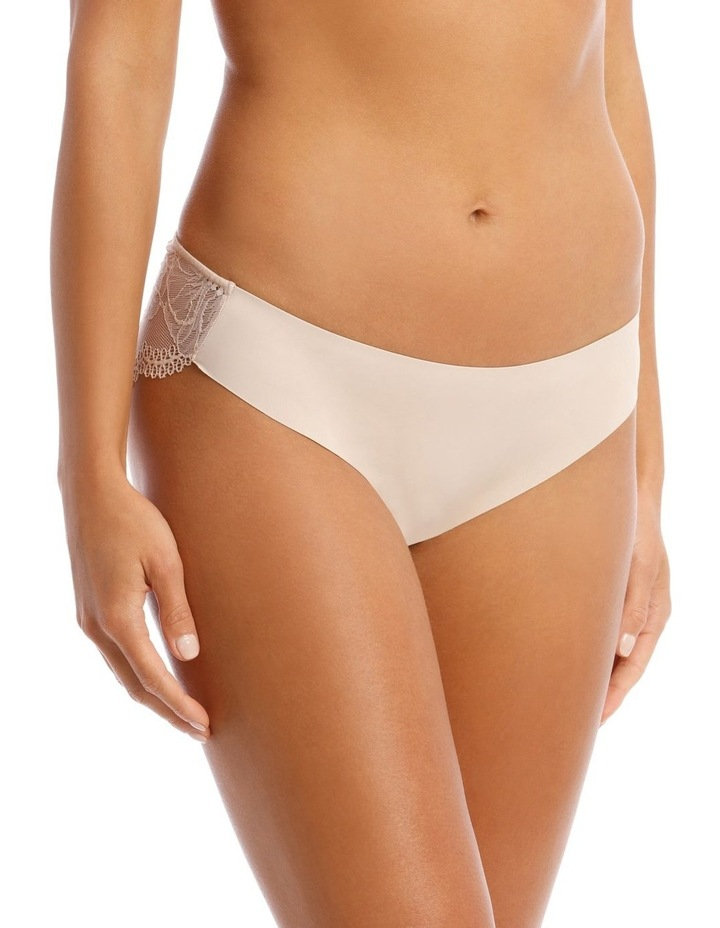 Gemma Galloon Bikini Brief in Beige image 1