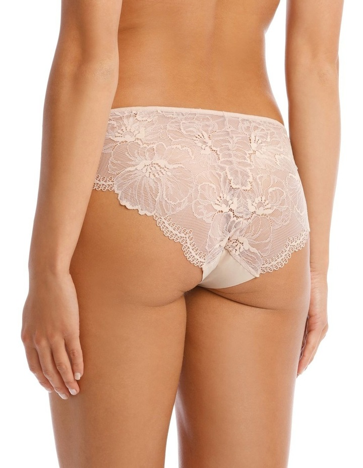 Gemma Galloon Bikini Brief in Beige image 2