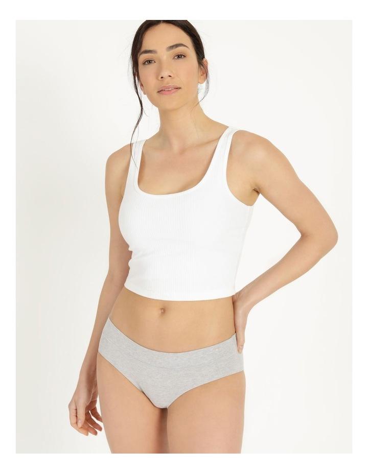 Organic Cotton Bikini Grey Marle image 1
