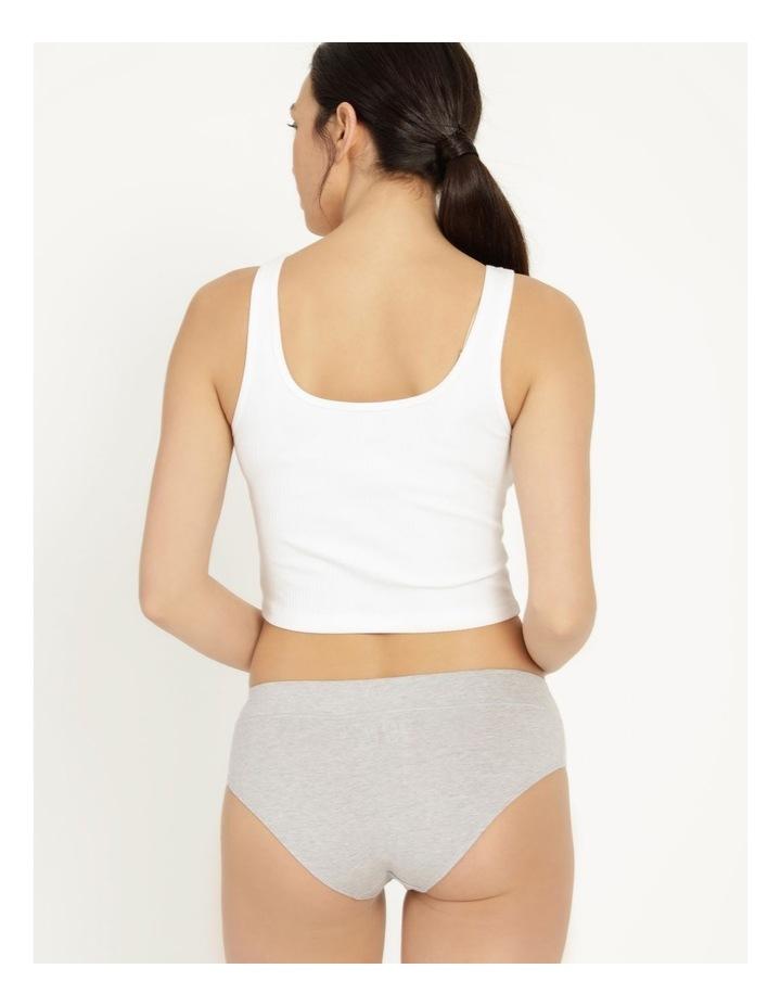 Organic Cotton Bikini Grey Marle image 4