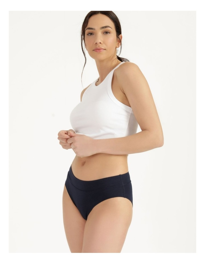 Organic Cotton Bikini Navy image 1