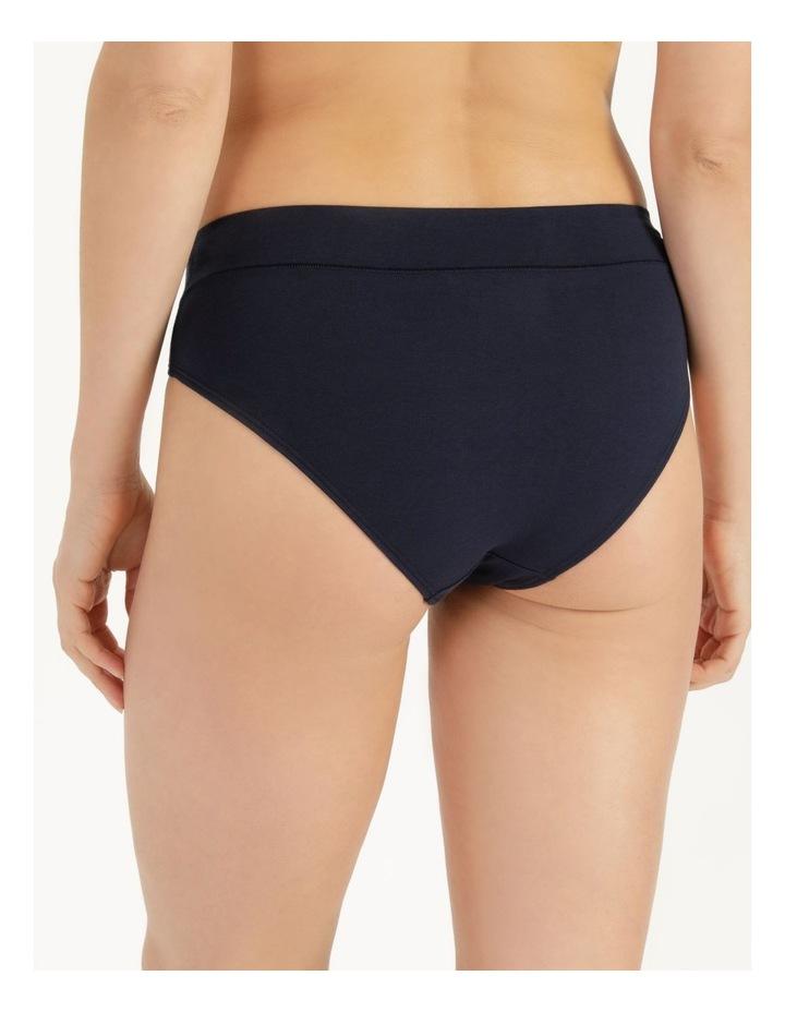 Organic Cotton Bikini Navy image 3