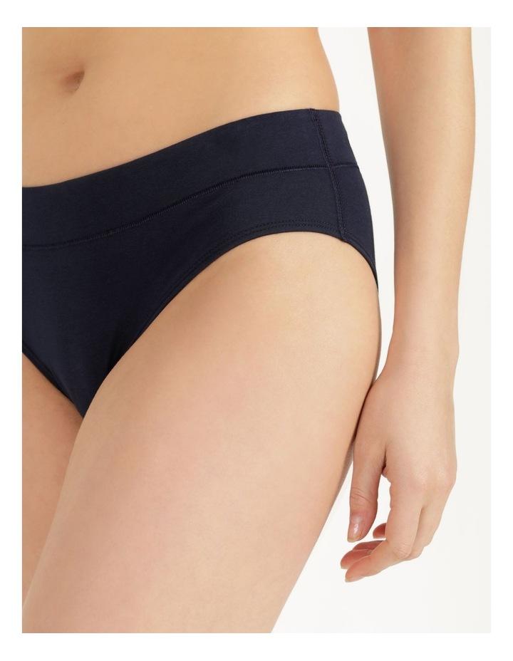 Organic Cotton Bikini Navy image 5