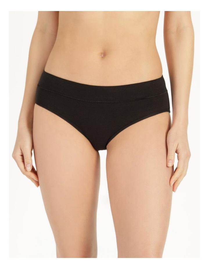 Organic Cotton Bikini Black image 2