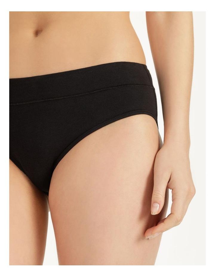 Organic Cotton Bikini Black image 5