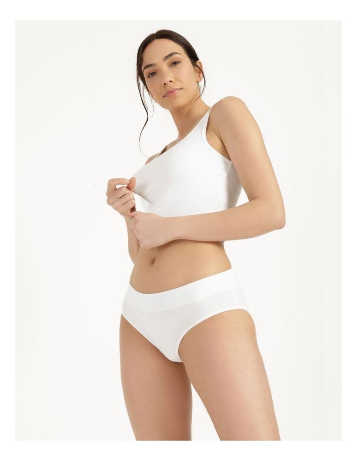 Organic Cotton Bikini White image 1