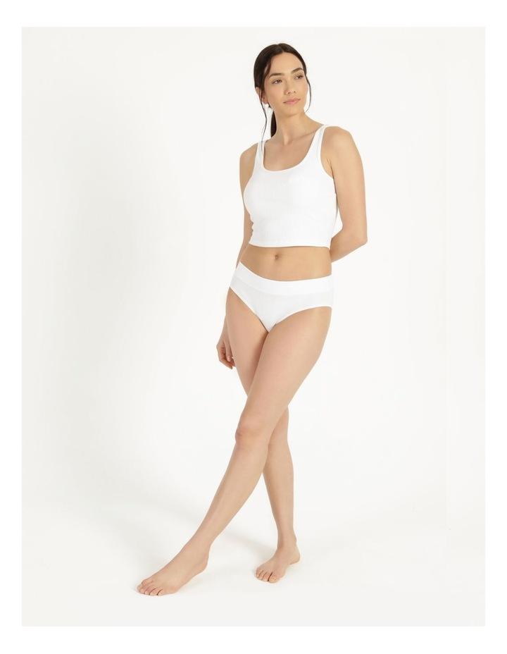 Organic Cotton Bikini White image 2