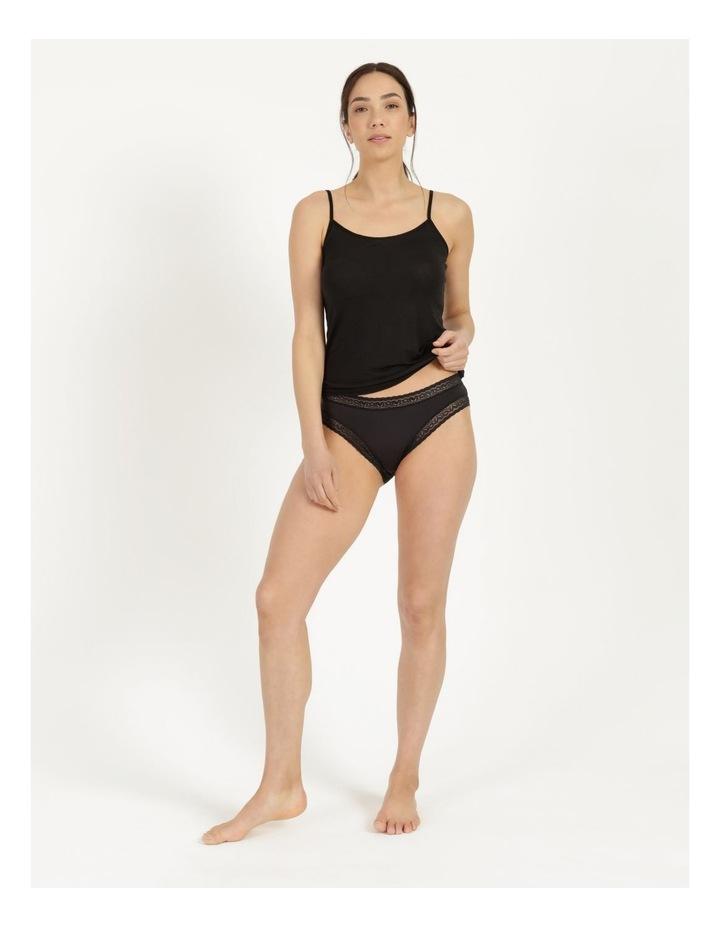 Bikini Brief Black Standard image 3