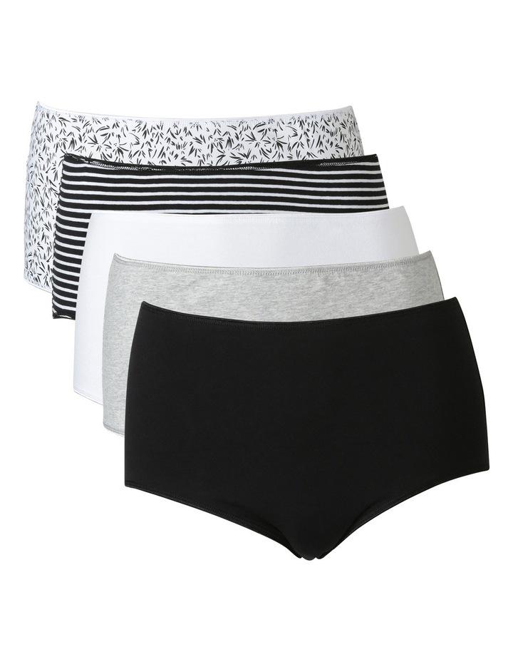 Everyday Cotton 5pk Fashion Full Brief USOW17046P image 1