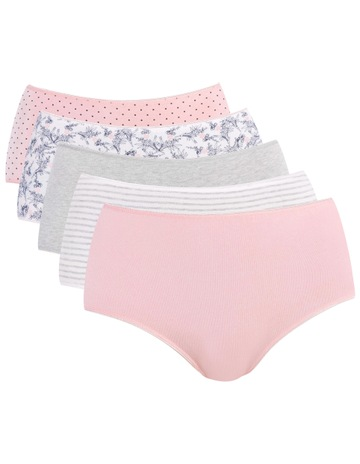 c63e7a15a6 SohoEveryday Cotton 5 Pack Fashion Full Brief USOW17046P. Soho Everyday  Cotton 5 Pack Fashion Full Brief USOW17046P