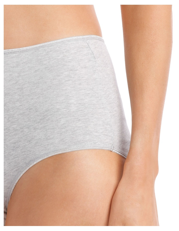 Everyday Cotton 5 Pack Fashion Full Brief USOW17046P image 4