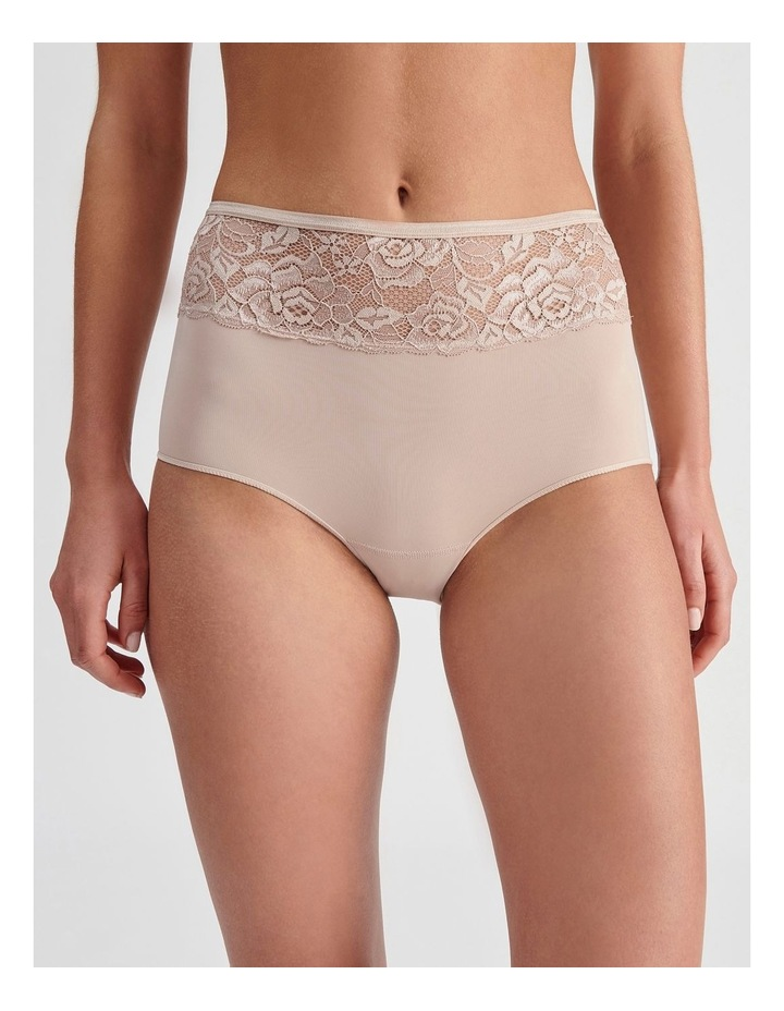 Lace Waist Full Brief image 1