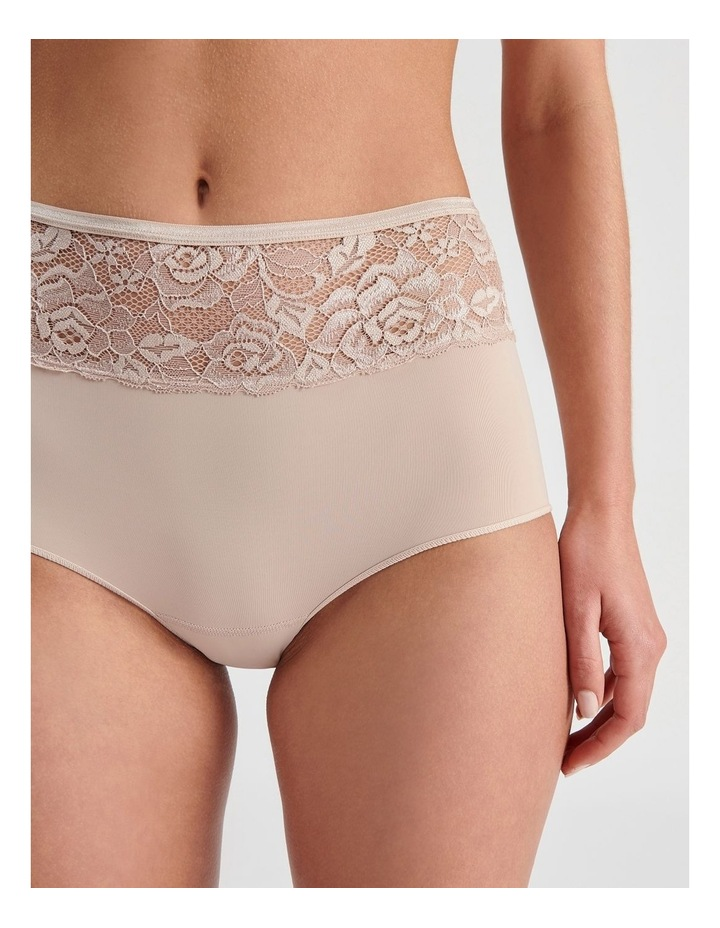 Lace Waist Full Brief image 3