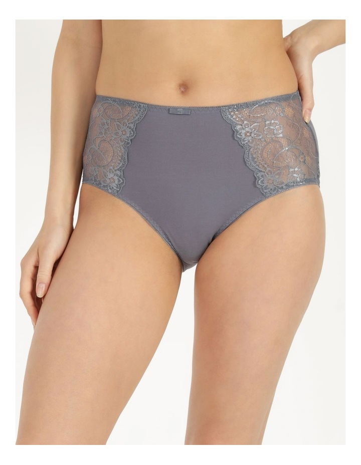 Lace Panel Cotton Full Brief image 2