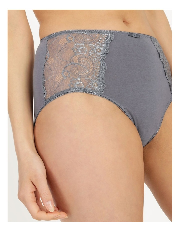 Lace Panel Cotton Full Brief image 6