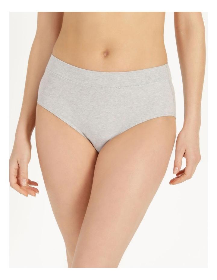 Organic Cotton Full Brief Grey Marle image 3