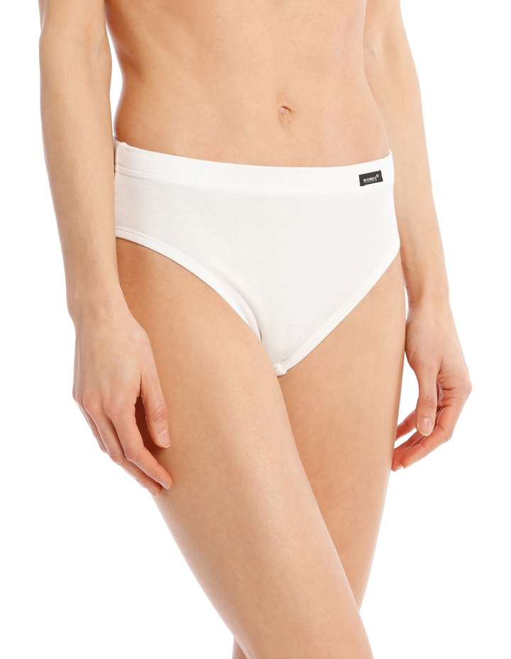 Cottontails High Cut Brief  White W0M13H image 1