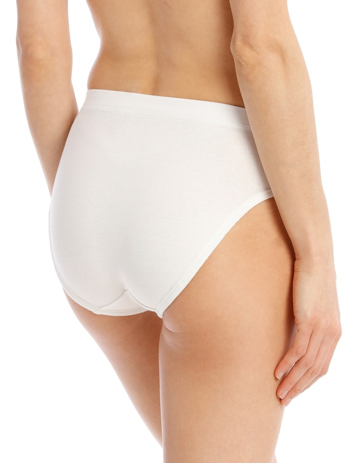 Cottontails High Cut Brief  White W0M13H image 2