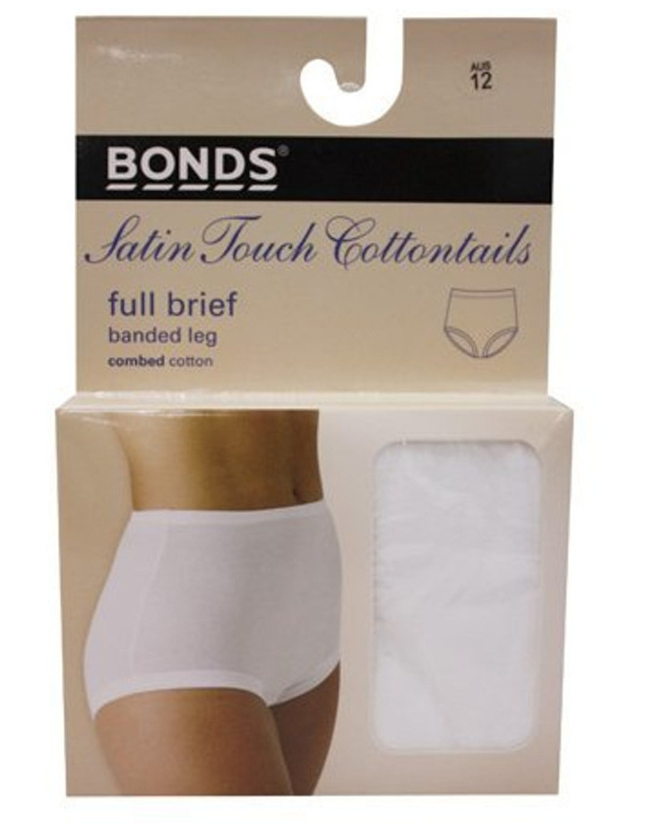 'Cottontails' Satin Touch Full Brief 1012 image 1