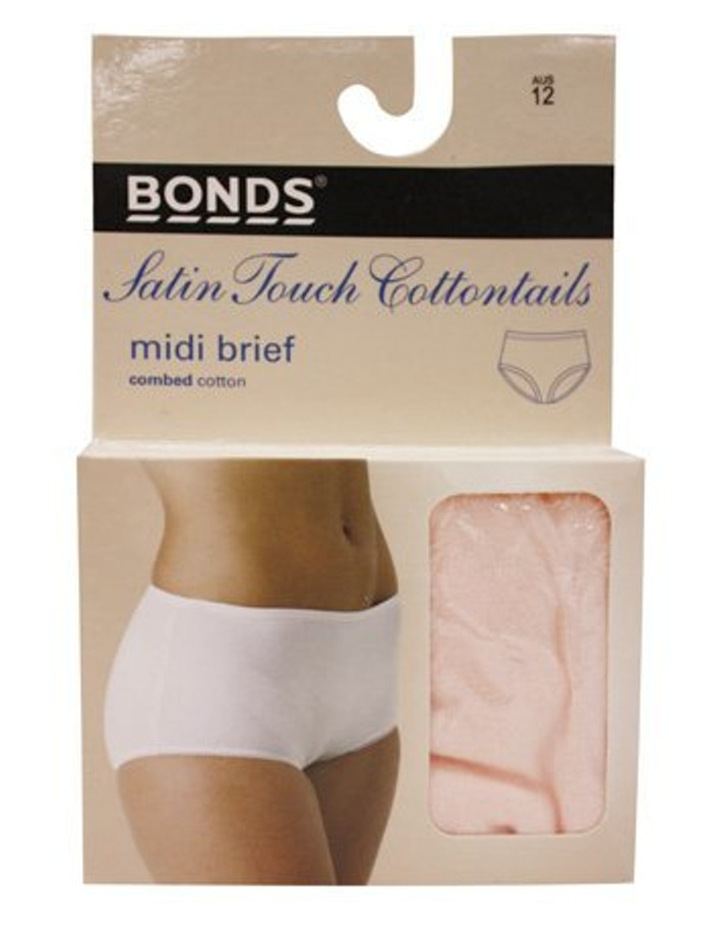 'Cottontails' Satin Touch Midi Brief 1019 image 1