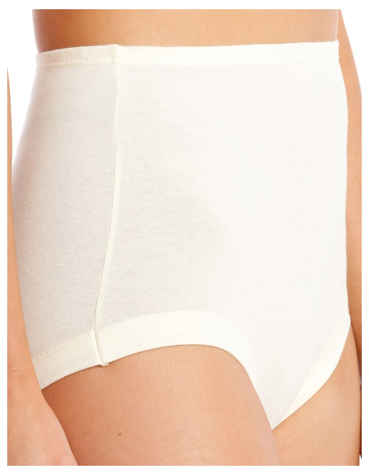 Cottontails Full Brief Ivory 10M13Y image 3