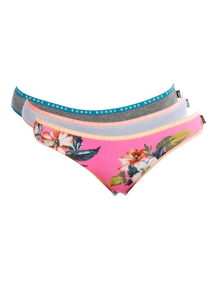 Hipster Bikini Briefs - 3 Pack image 1