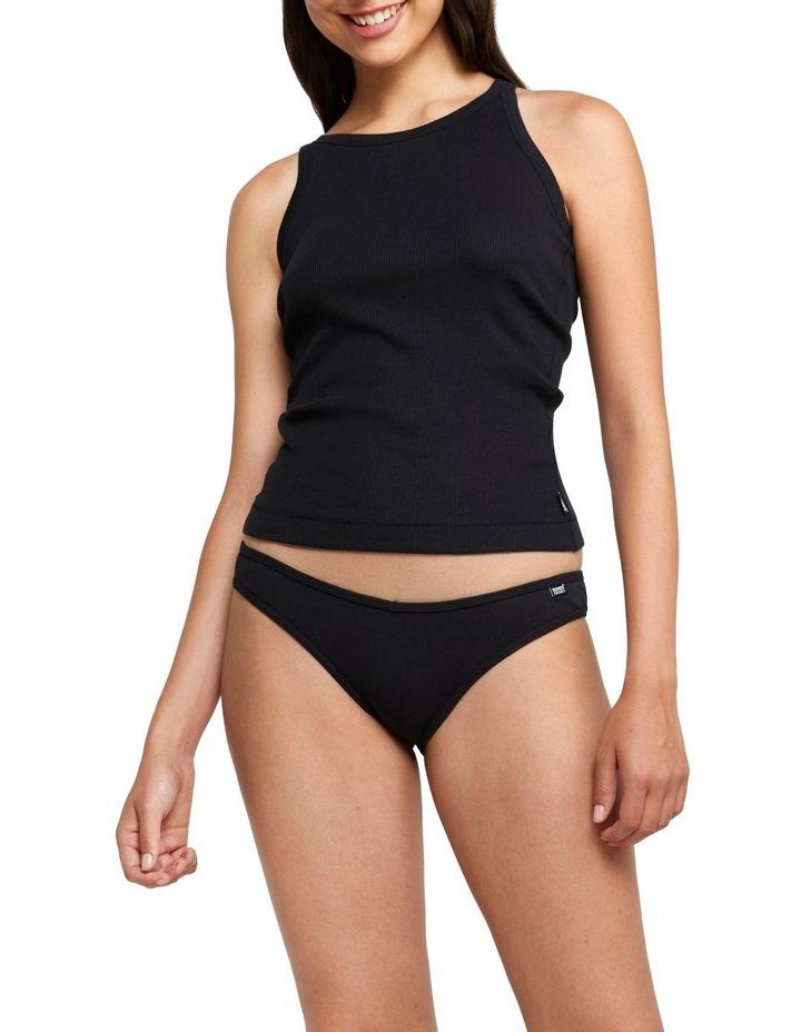 Organic Ribbed Bikini image 1