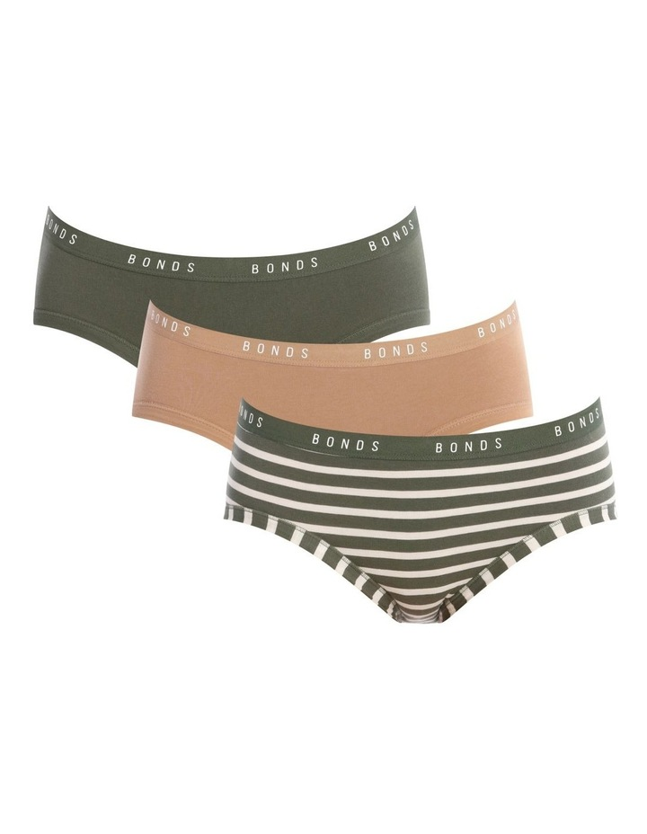 Cottontails 3 Pack Midi Brief WTLB image 1