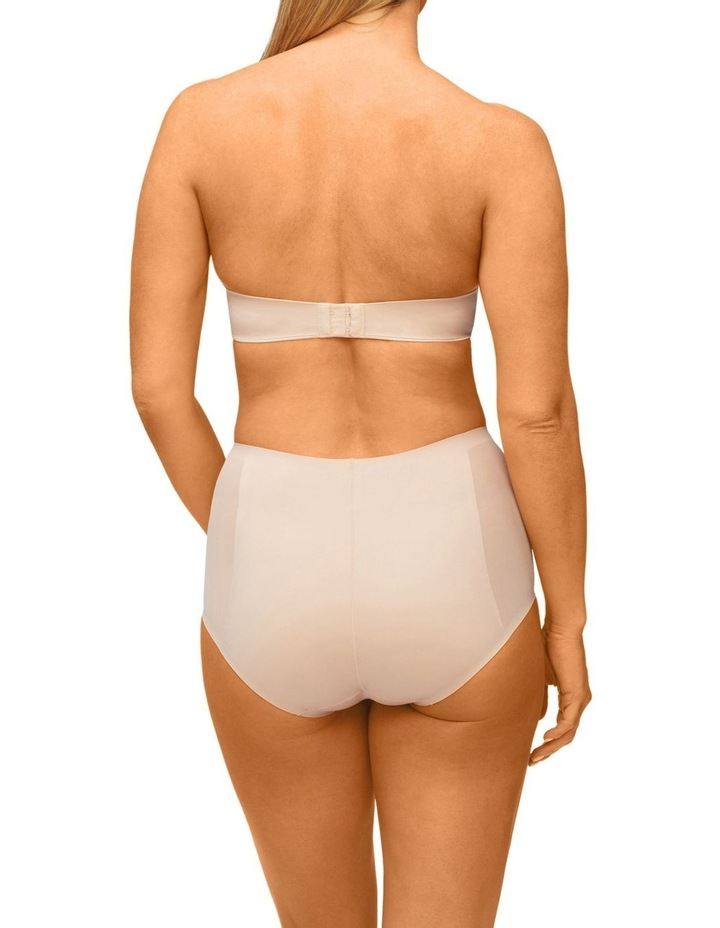 Solid & Sheer Waisted Brief Warm Taupe image 2