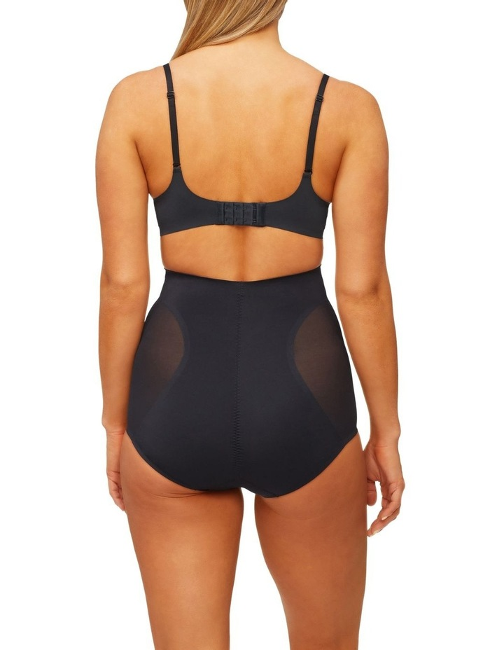 Solid & Sheer High Waisted Brief Black image 2