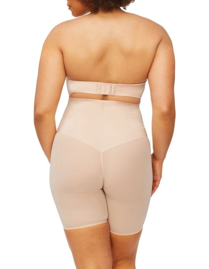 Solid & Sheer High Waist Thigh Shaper Warm Taupe image 2