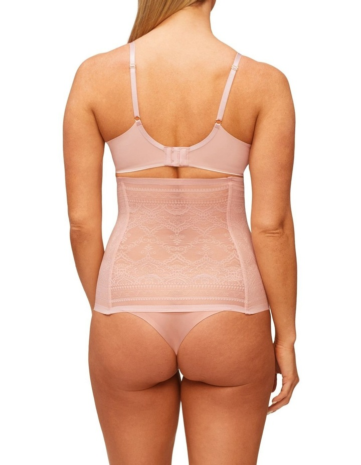 Geo Lace High Waisted Thong Rose image 2