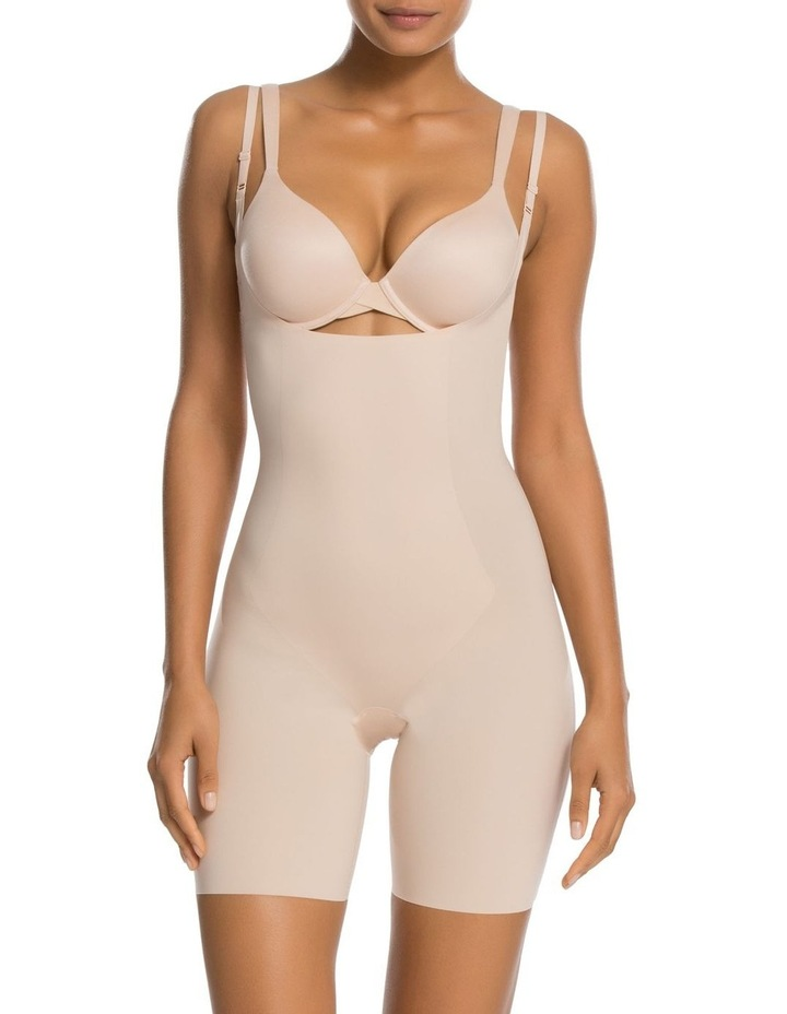 Thinstincts Open-Bust Midthigh Bodysuit 10021R image 1