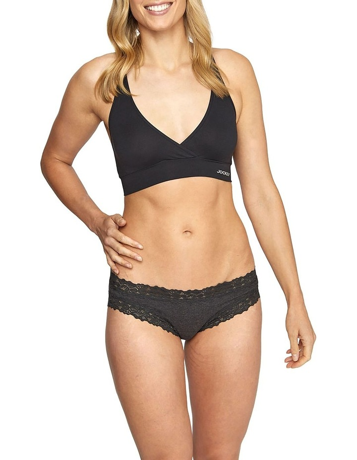 Parisienne Cotton Marle Bikini Brief WWJ7 image 1