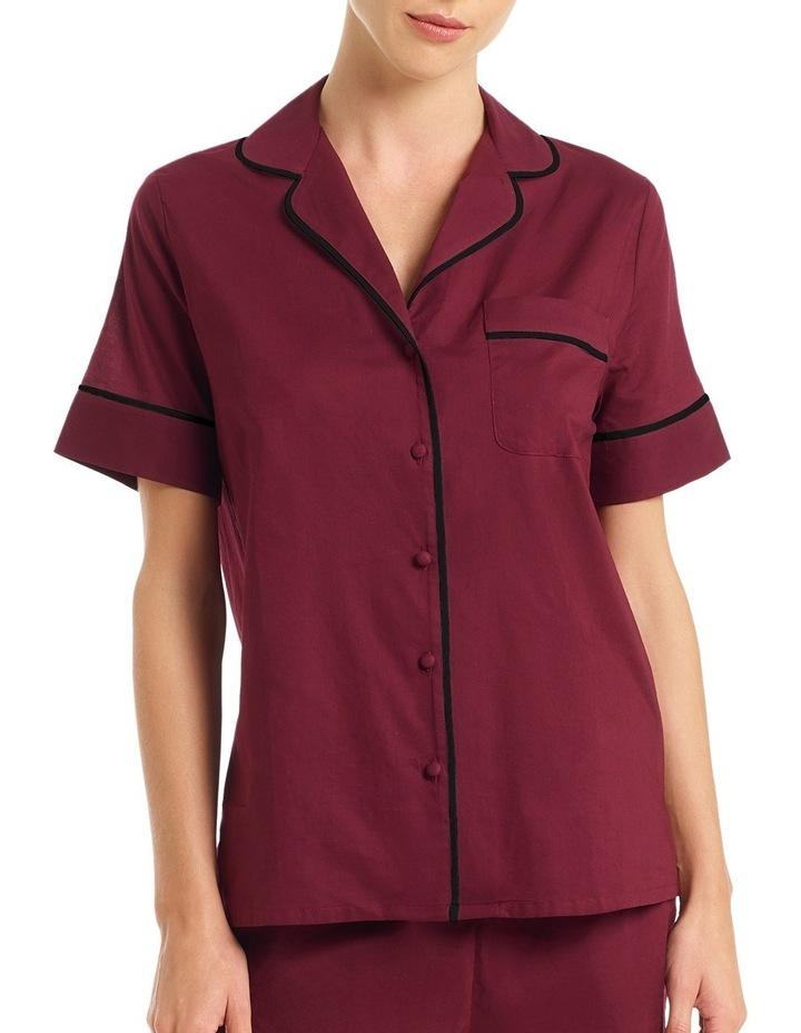 'Cotton Voile' Short Sleeve Top LEVSLWVNTP image 1