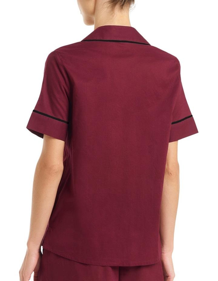 'Cotton Voile' Short Sleeve Top LEVSLWVNTP image 2