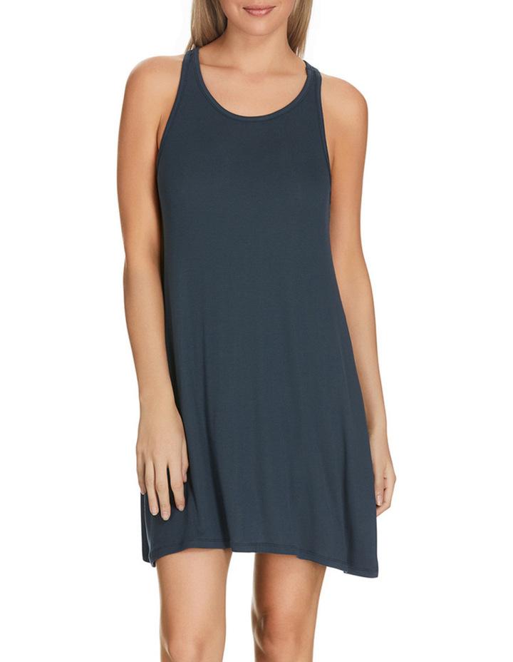 'Atlantic Velvet' Rib Sleeveless Dress WW8J image 1