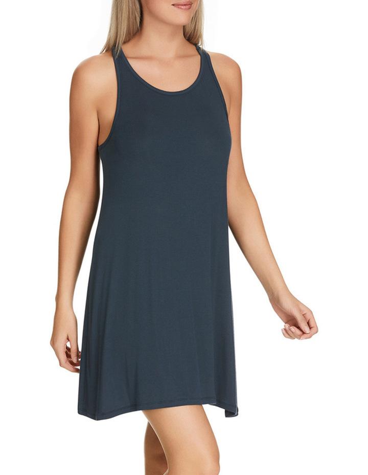 'Atlantic Velvet' Rib Sleeveless Dress WW8J image 2