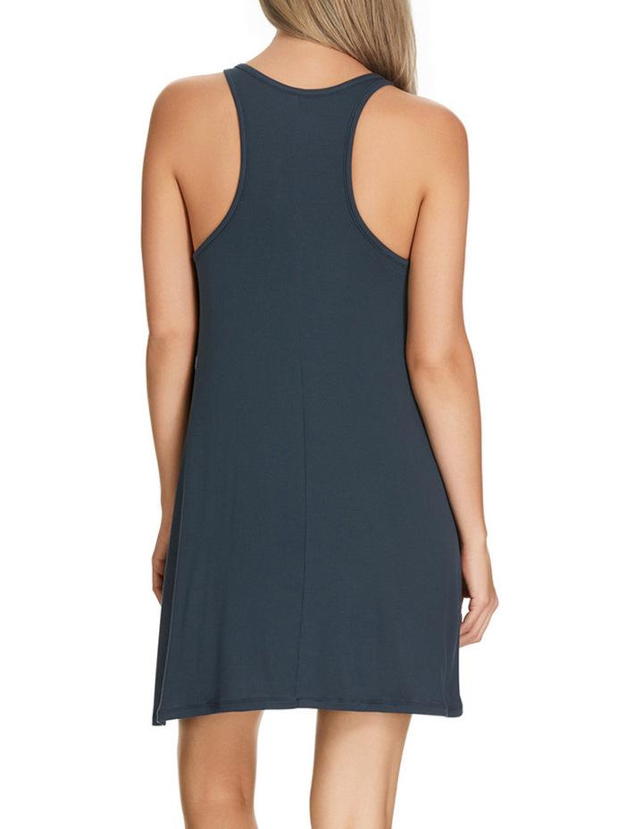 'Atlantic Velvet' Rib Sleeveless Dress WW8J image 3