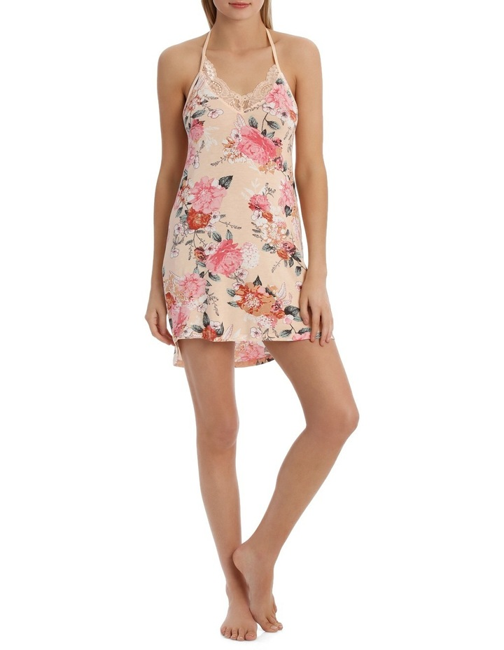 'Rosy Outlook' Floral Chemise RCROCE image 1