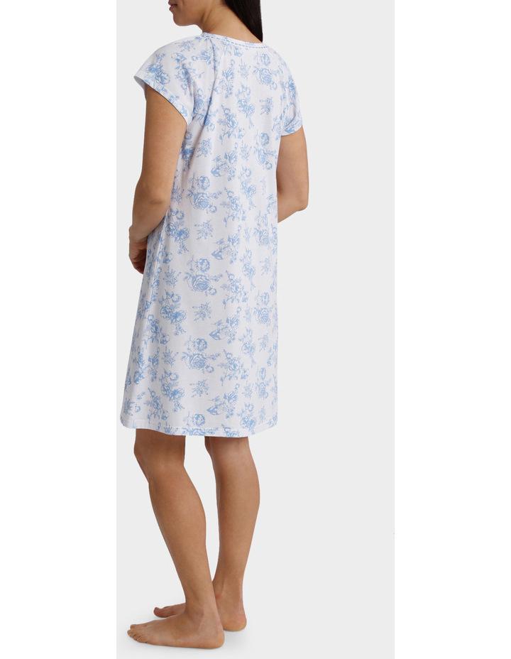 """Hilary"" Short Sleeve Nightie 6LP70H image 2"