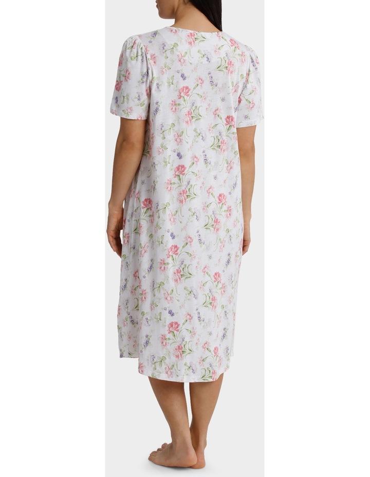 """Gwen"" Short Sleeve Midlength Nightie 6LP68G image 2"