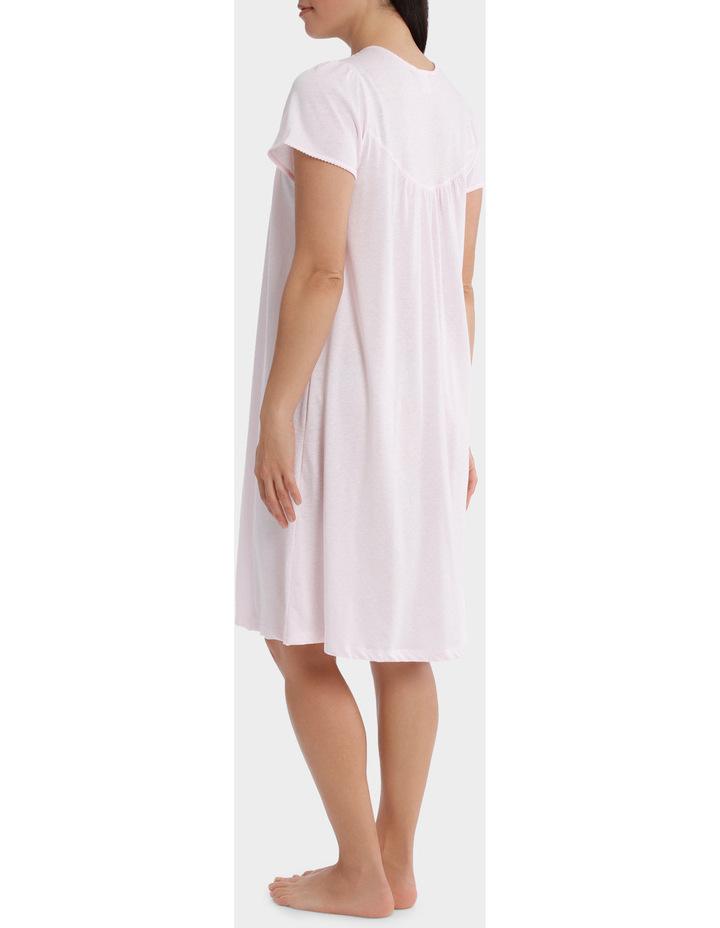 'Cherry Blossom' Short Sleeve Knit Nightie SK206MY image 2