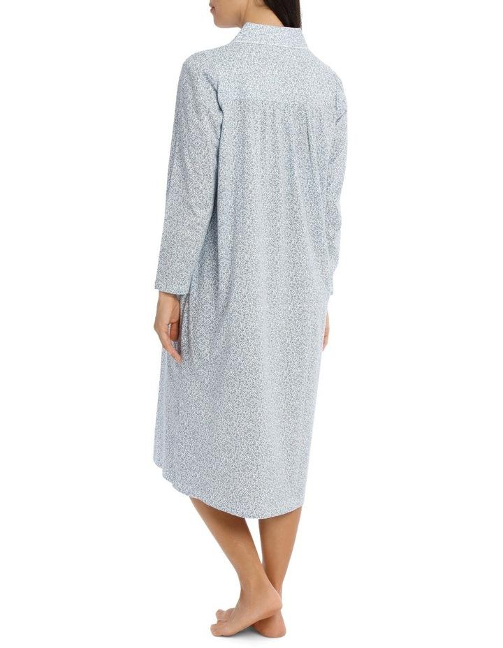 'Printed Cotton Jersey' Dawn Midlength Nightie 7LP11D image 2
