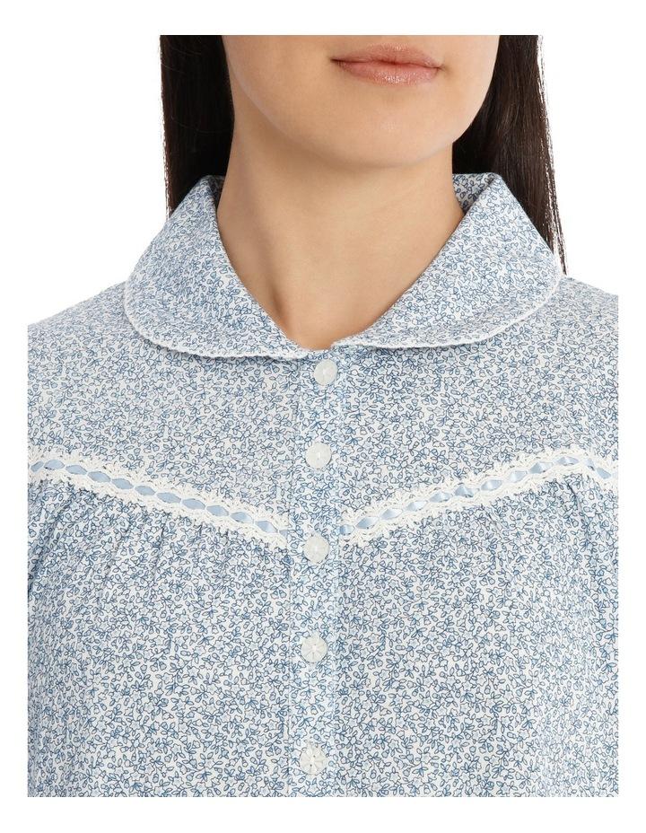 'Printed Cotton Jersey' Dawn Midlength Nightie 7LP11D image 3