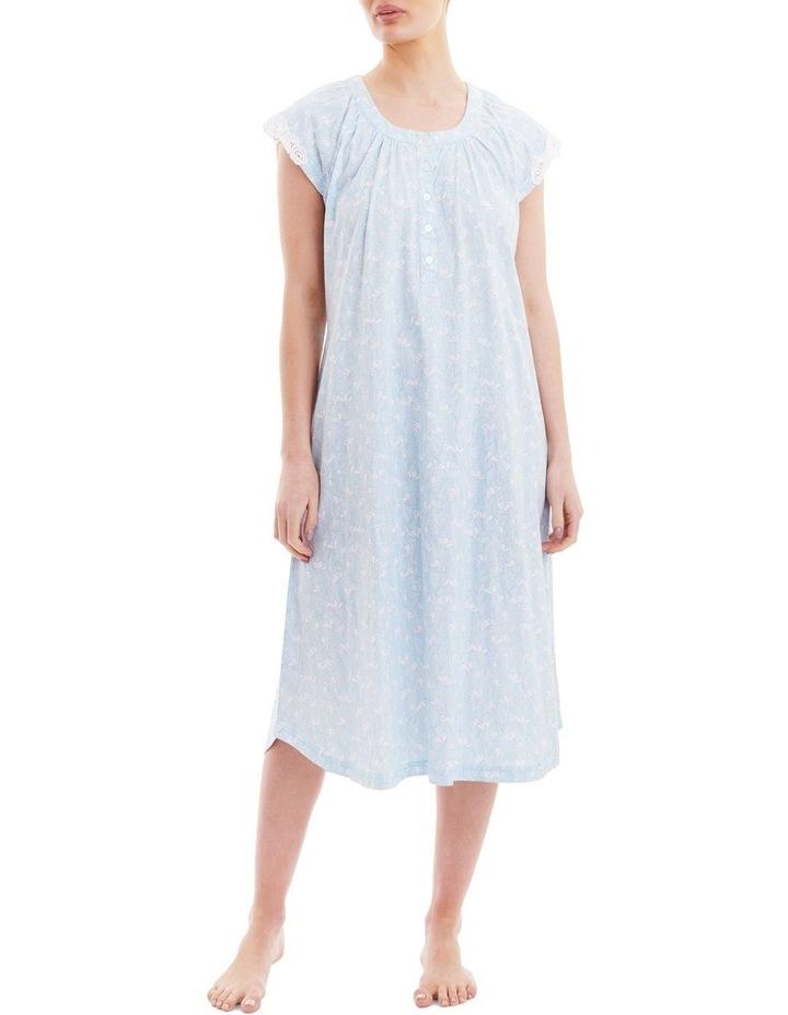 Reese Cap Sleeve Mid Length Nightie 2LP40R image 1