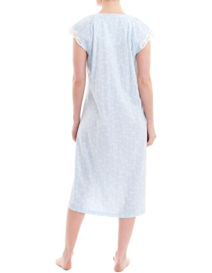 Reese Cap Sleeve Mid Length Nightie 2LP40R image 2
