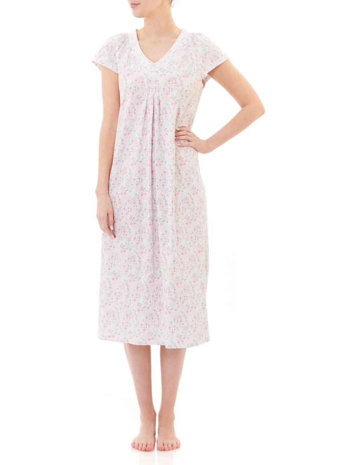 Dixie' Cap Sleeve Midlength Nightie 4LP42D image 1