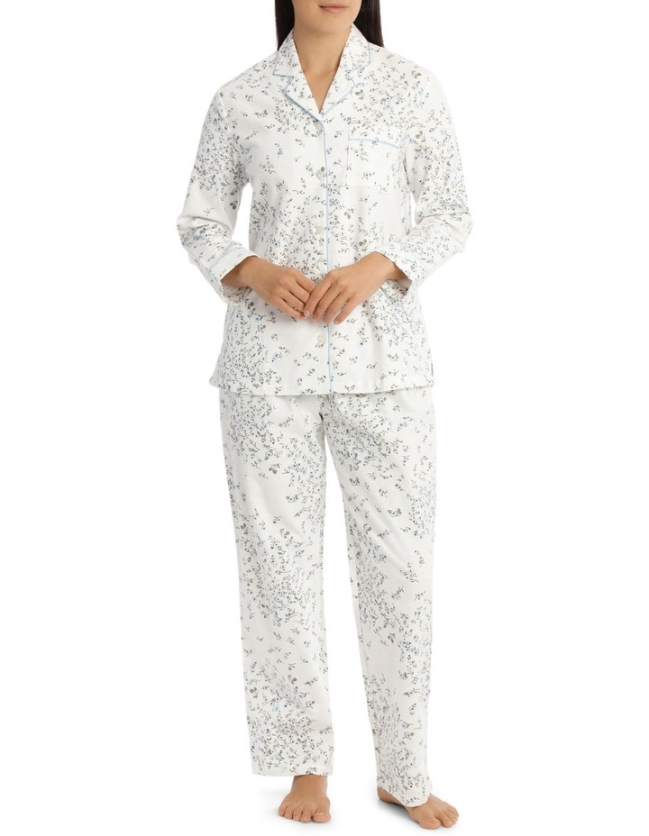 'Printed Flanelette' Jamie Long Pyjama 7FL64J image 1